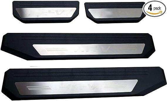 Steel Full Window Frame Sill Frame doorknob Cover Trim For Honda HRV 2016-2019