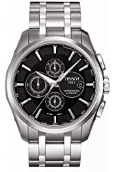 Tissot Couturier Automatic Chronograph Black Dial Men's Watch #T035.627.11.051.00