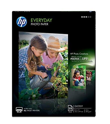 HP Everyday Semi-gloss Photo Paper-Lette