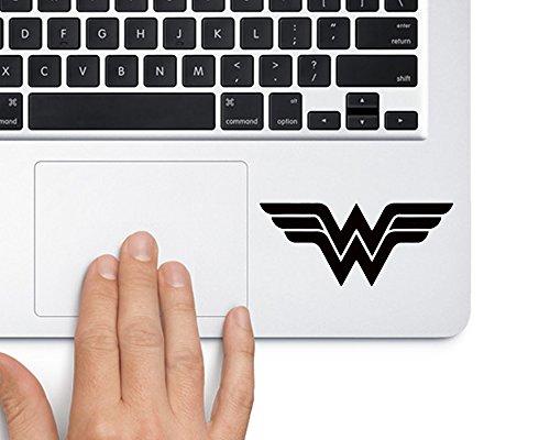 (Wonder Woman DC Comic Superhero - Trackpad Apple Macbook Laptop Vinyl Sticker Decal)