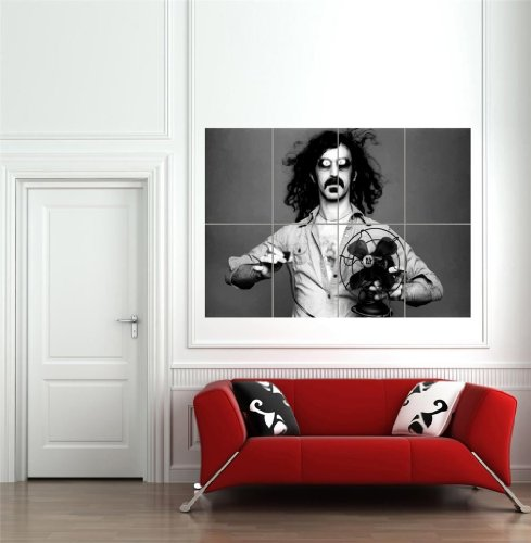 Frank Zappa Music Legend Fan Giant Poster Art Print