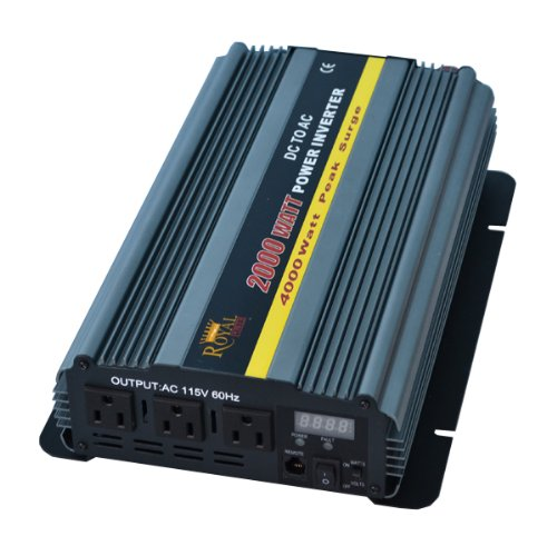 2000 Watt Power Inverter 24 Volt DC to 110 Volt AC