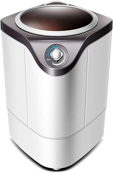 RMXMY Portátil Lavadora - Gran Capacidad emi-automático Individual Barril - Perfecto for Apartamentos, Casas rodantes y Las pequeñas Espacio Vital (630 * 390 * 390 mm) (Color : B)