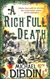 Front cover for the book A Rich Full Death by Michael Dibdin