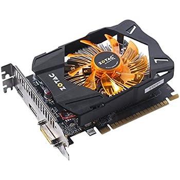 ZOTAC GeForce GTX 750Ti 2GB GDDR5 PCI Express 3.0 DVI HDMI DisplayPort Video Graphics Card (ZT-70605-10M)