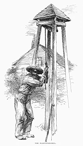 Sugar Plantation C1887Nworker Ringing The Plantation Bell On A Sugar Plantation In Louisiana Line Engraving After Edward Windsor Kemble C1887 Poster Print by (24 x 36)