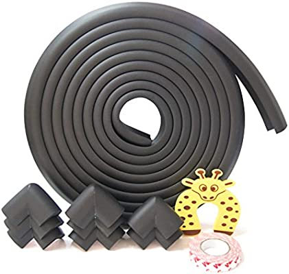 L Shape Baby Safety Table desk Cushion Edge Corner Guard Strip Bumper Protector