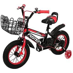 Aster 12 Bike 1 Speed, Black Red