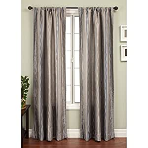 Softline Sloane Stripe Window Curtain Panel