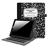 Fintie iPad 2/3/4 Case [Corner Protection] - [Multi-Angle Viewing] Folio Stand Smart Cover with Pocket, Auto Sleep / Wake for Apple iPad 2, iPad 3 & iPad 4th Gen Retina Display, Composition Book