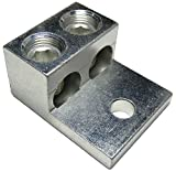 2pcs 2S600-53-63 Dual Rated Double Wire Mechanical Lug 600 kcmil - IHI