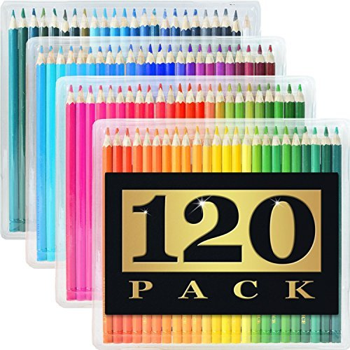 120-Pack Colored Pencils