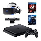 PlayStation 4 Slim Star Wars Battlefront II Bundle (2 Items): PS4 Slim 1TB Limited Edition Console - Star Wars Battlefront II Bundle, and PlayStation VR - Gran Turismo Sport Bundle