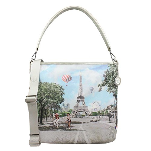 BORSA DONNA Y NOT? HOBO BAG CON TRACOLLA CHAMP ELYSEES INSTANT J-349