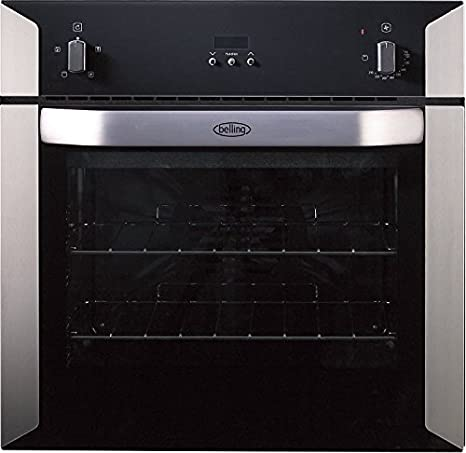 Belling BI60FP –  Oven (Electric, 1850 W, Built-in, Stainless Steel, Rotary, 2000 W) 1850W 2000W) uk_B002WUPMNG