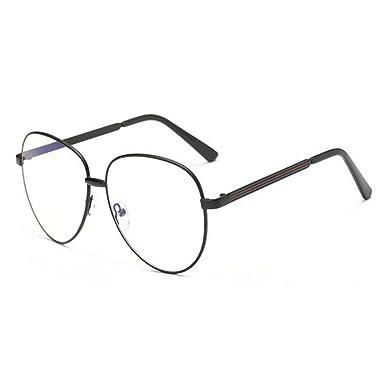 f495cb9475d6d Hzjundasi Rétro Lumière bleue Filtre Des lunettes Lentille claire Lecture  Lunettes Ordinateur Hommes Femmes Anti-fatigue visuelle  Amazon.fr   Vêtements et ...