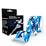 """AVOIN 2"""" x 16.4' Sport Kinesiology Tape - FDA Approved Latex Free Hypoallergenic Athletic Tape for Sports and Muscle Recovery Injuries"""