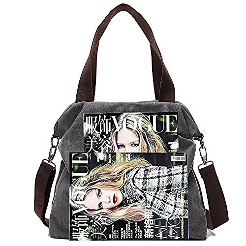 Material 1 Paddy Gray Tote women's canvas 1x4x11 Pack Women Canvas W l H Crossbody Direct Of Inch casual 16 Handbags Bags Bag qFSnHYrF