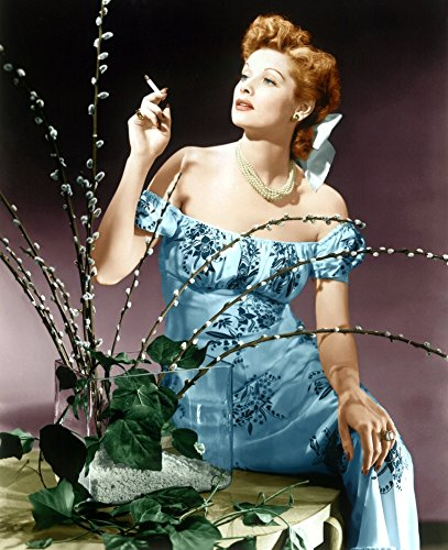 Posterazzi Lucille Ball Ca. Mid/Late 1940S Photo Poster Print, (8 x 10)