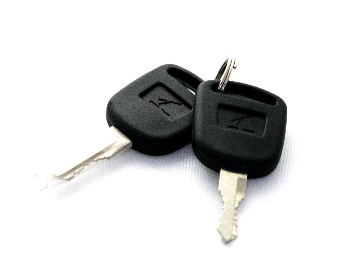 Amazon.com: Key Switch Batería Lock Plata Pescado Tipo ...
