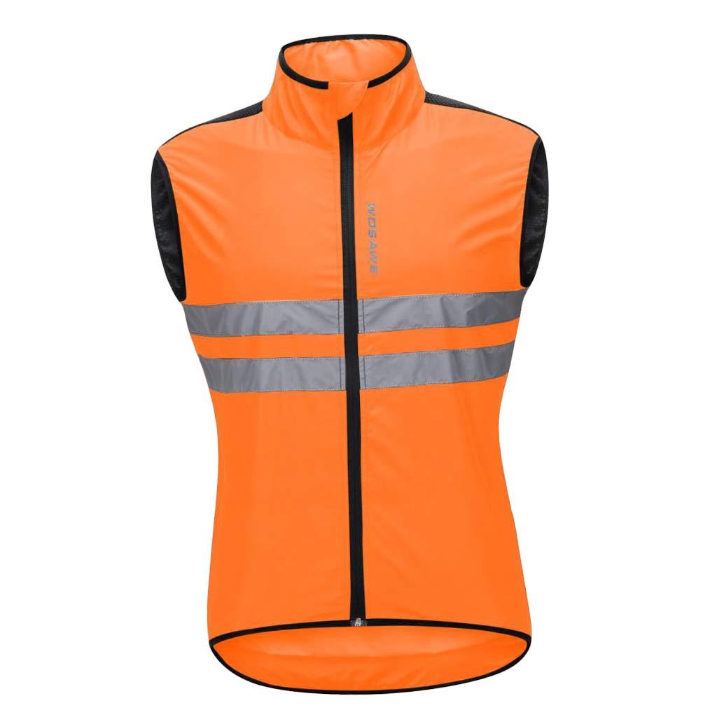 Sharplace Herren Leichte Wind Weste Fahrradweste Radweste Laufweste Joggingveste Radsport Radfahren Windstopper Windweste