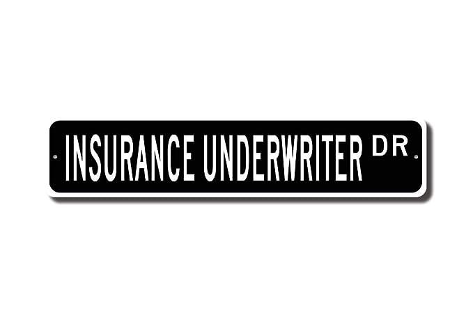 qidushop Cartel de Seguridad con Texto en inglés Underwriter ...