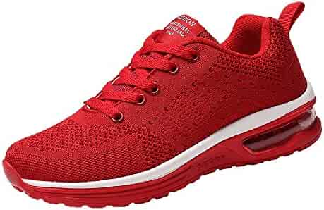 Respctful✿Men's Fashion Sneakers Casual Athletic Lightweight Breathable Mesh Outdoor Sports Shoes