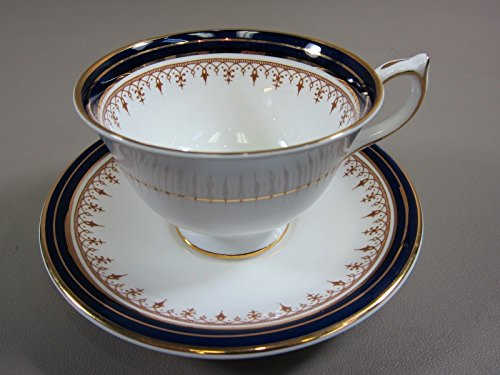 AYNSLEY China LEIGHTON-COBALT BLUE Cup and Saucer Set(s) Multi.Avail. EXCELLENT