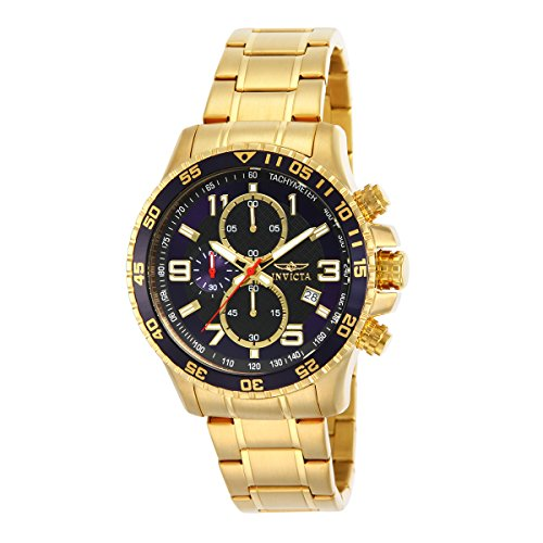 Bracelets Invicta Gold (Invicta Men's 14878 Specialty Chronograph Gold Ion-Plated Watch)