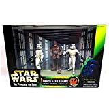 Star Wars: Power of the Force Han and Luke in Stormtrooper Disguise with Chewbacca as Prisoner Cinema Scenes Death Star Escape Action Figure Multi-Pack