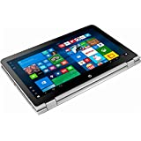 HP - 2-in-1 15.6 Touch-Screen Laptop - Intel Core i3 - 8GB Memory - 1TB Hard Drive - Natural silver and ash silver