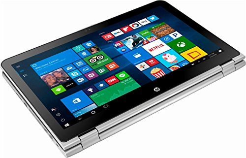 HP – 2-in-1 15.6″ Touch-Screen Laptop – Intel Core i3 – 8GB Memory – 1TB Hard Drive – Natural silver and ash silver