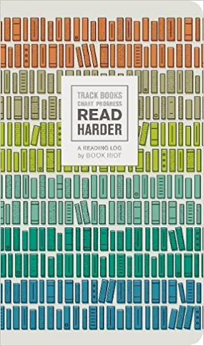 Read Harder A Reading Log Track Books Chart Progress Book Riot