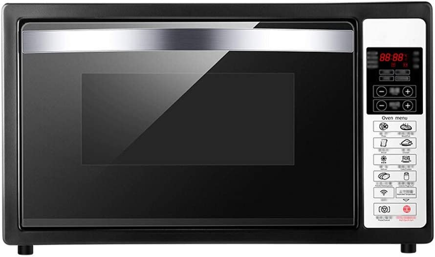 CMmin Countertop Microwave Oven,Oven with A Variety Of Cooking Functions,Adjustable Temperature Control and Timing Function(0~60 Minutes)2000W,Black