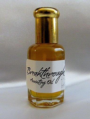 BREAKTHROUGH Prayer Anointing Oil 1/3 decorative bottle with (Yoke Oil)