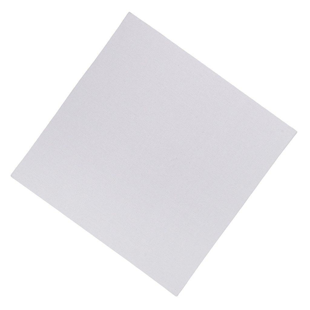 Baoblaze White Artist Blank Canvas Board Hard Core For Art Artist Oil Acrylic Paints - White, 24x30cm