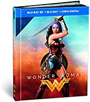 Wonder Woman Ed. Digibook Blu-Ray 3d [Blu-ray]