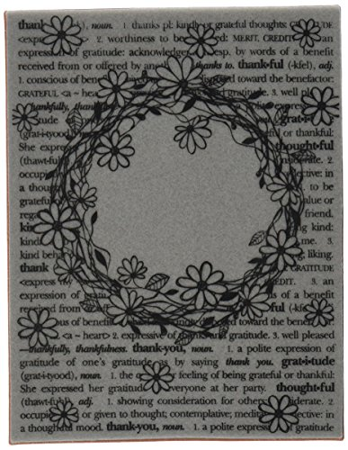 Sizzix Textured Impressions Embossing Folder with Stamp - Floral Wreath Set by Hero Arts (Foil Stamp Folders)