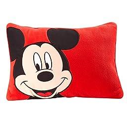 Disney Mickey Decorative Pillow, Red