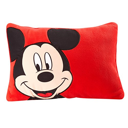 Disney Mickey Decorative Pillow, Red ()