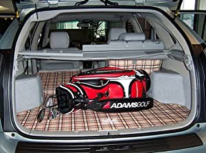 2015 2016 honda fit canvasback cargo liner tan plaid automotive. Black Bedroom Furniture Sets. Home Design Ideas