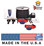 Electric Dog Fence Premium Underground Dog Fence System for Easy Setup and Superior Longevity and Continued Reliable Pet Safety - 2 Dog | 1000 Feet Standard Dog Fence Wire