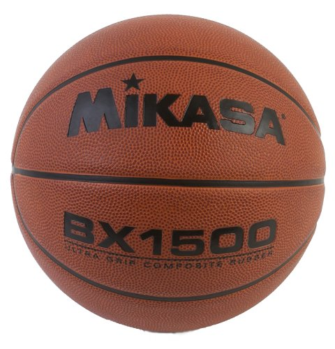 - Mikasa BX1500 Composite Rubber Basketball Ultra-Tack (Official Size)