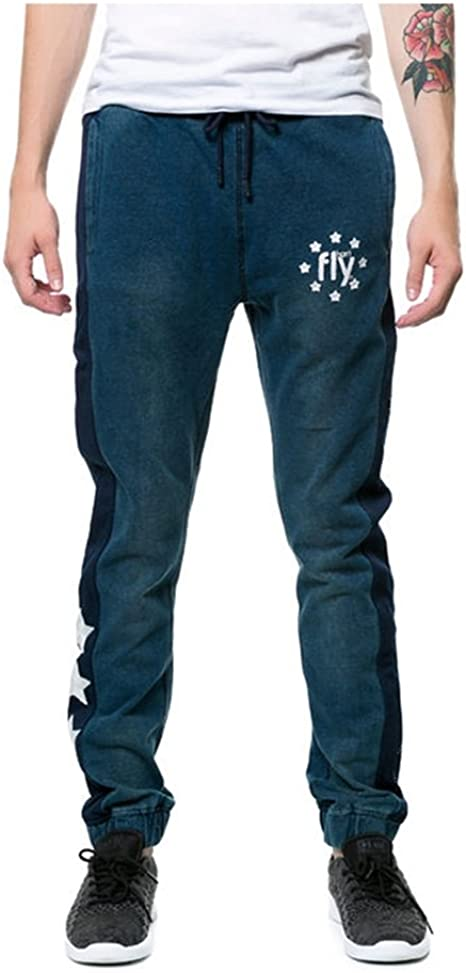Mens Jogger Sweatpants Crazy Dog Lady Paw Casual Stretch Cotton Jersey Pant