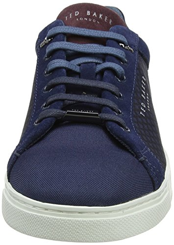 Homme Bleu Sarpio Baker Blue Dark Baskets Ted qztCOAwx