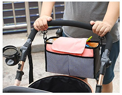 Gobuy Baby Stroller Organizer Large Capacity Ourdoor Storage Bottle Napkin Diaper for Baby & - Auction Sunglasses