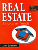 Real Estate Principles and Practices, Geschwender, Arlyne, 0137780281