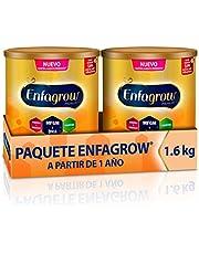 Leche de Crecimiento para Niños mayores de 12 Meses, Enfagrow Premium Etapa 3, En Polvo Paquete especial con 2 latas de 800 gramos cada una, el empaque puede variar