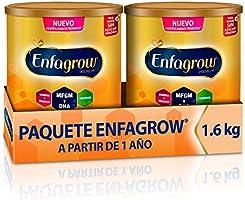 Leche de Crecimiento para Niños mayores de 12 Meses, Enfagrow Premium Etapa 3, En Polvo Paquete especial con 2 latas de...