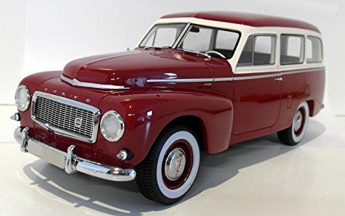 Volvo PV445 Duett, dunkelrot beige, 1956, Modellauto, Fertigmodell, BoS-Models 1 18
